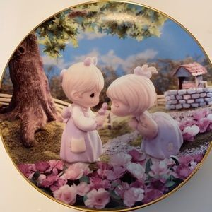 Enesco Good Friends are Forever Gold Rimmed Plate